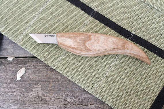 Chip carving knife Skew knife beveled knife wood carving knife chip carving woodcarving knives woodcarving tools carving knife BeaverCraft #woodcarvingtoo