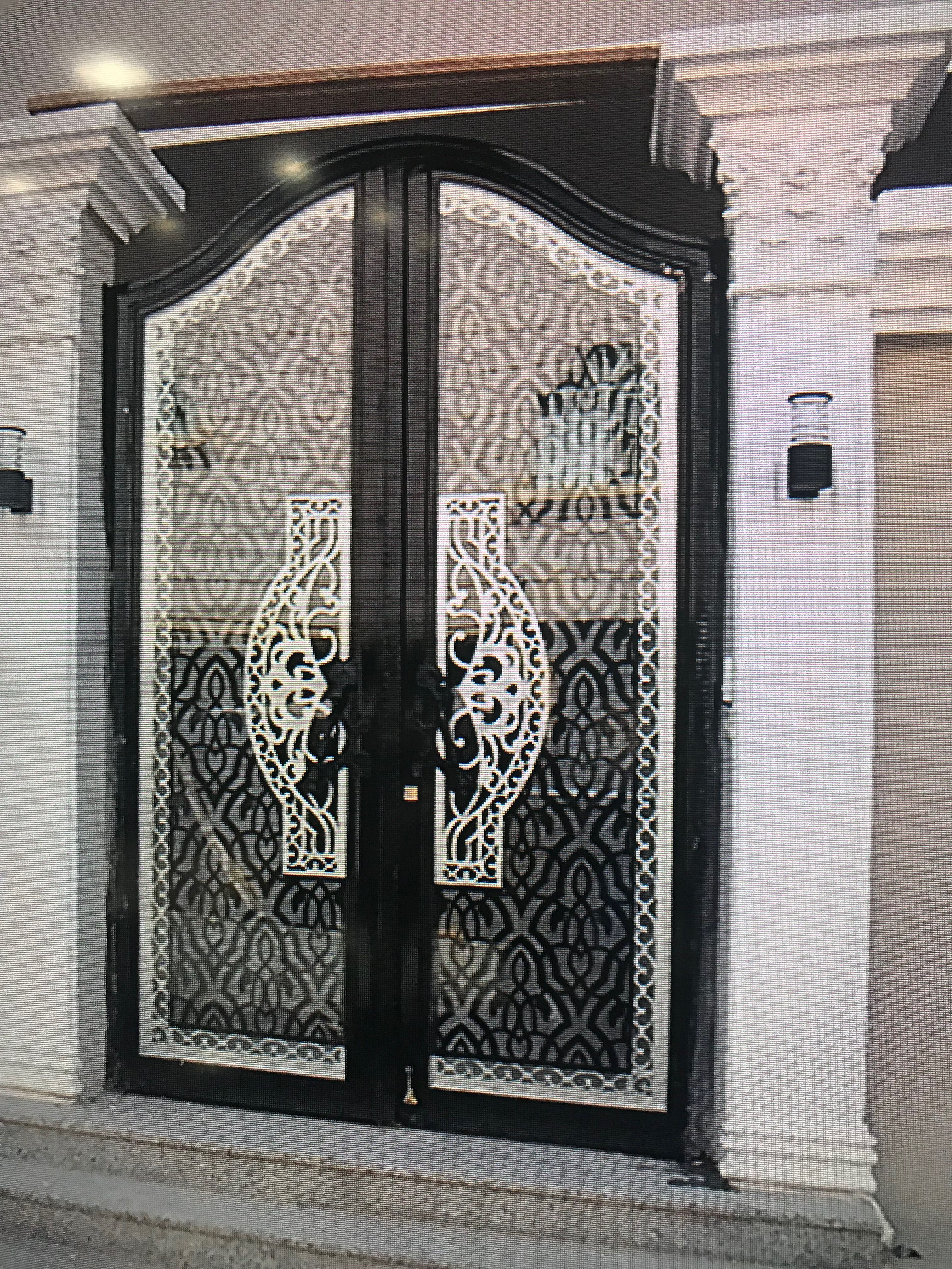 Pin by BAHRIN GATE on Decor | Exterior doors with glass ...