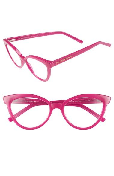 9a687038b7e3 kate spade new york 'danna' 52mm cat eye reading glasses available at  #Nordstrom