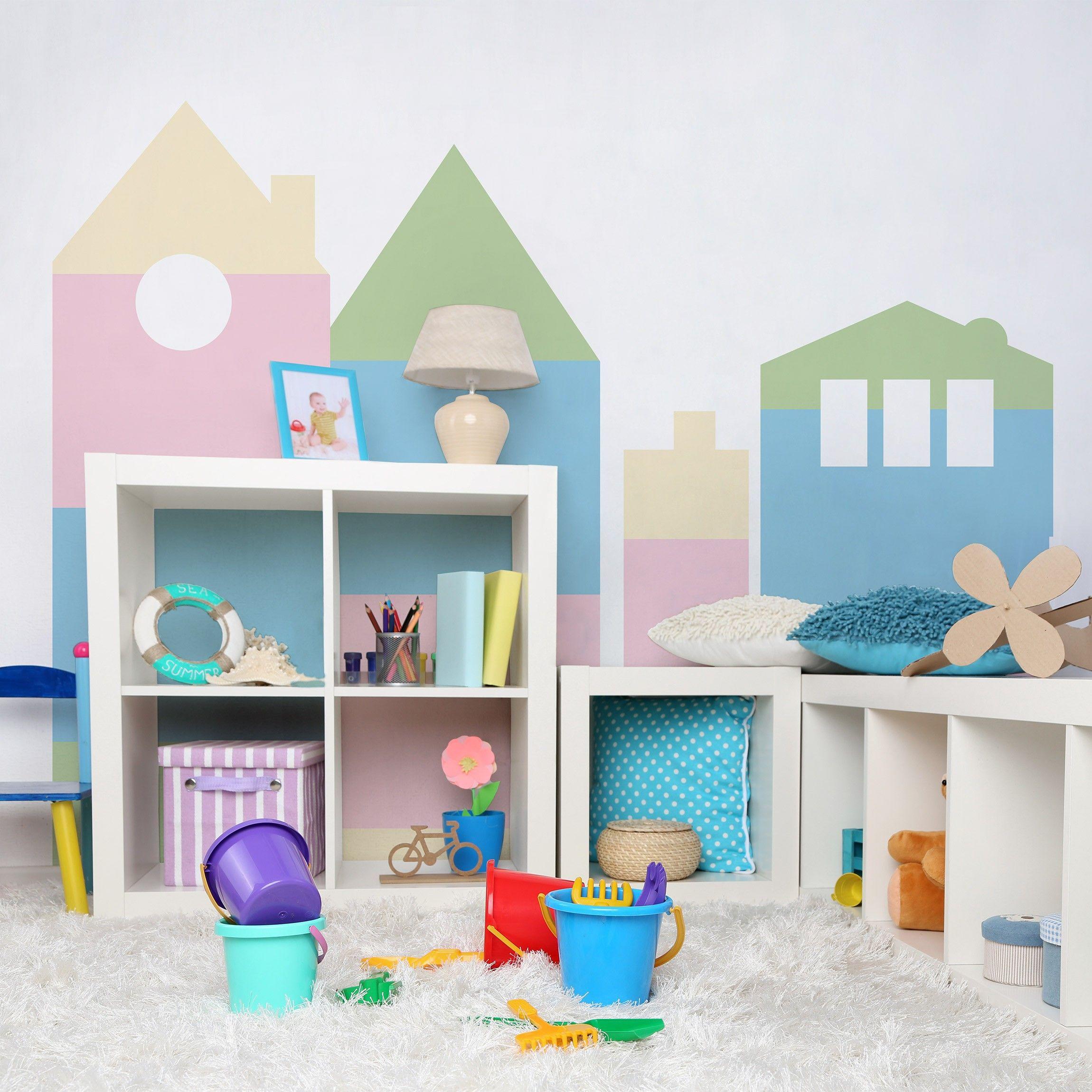 Die beliebten Klebefolien für das Kinderzimmer gibt es in