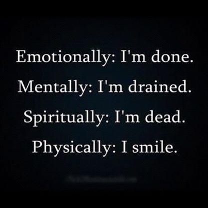 Yupp. I always smile at my