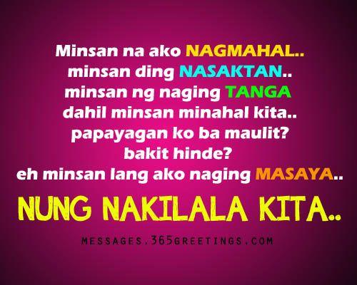 Sad Tagalog Love Quotes | Tagalog, Tagalog quotes and ...