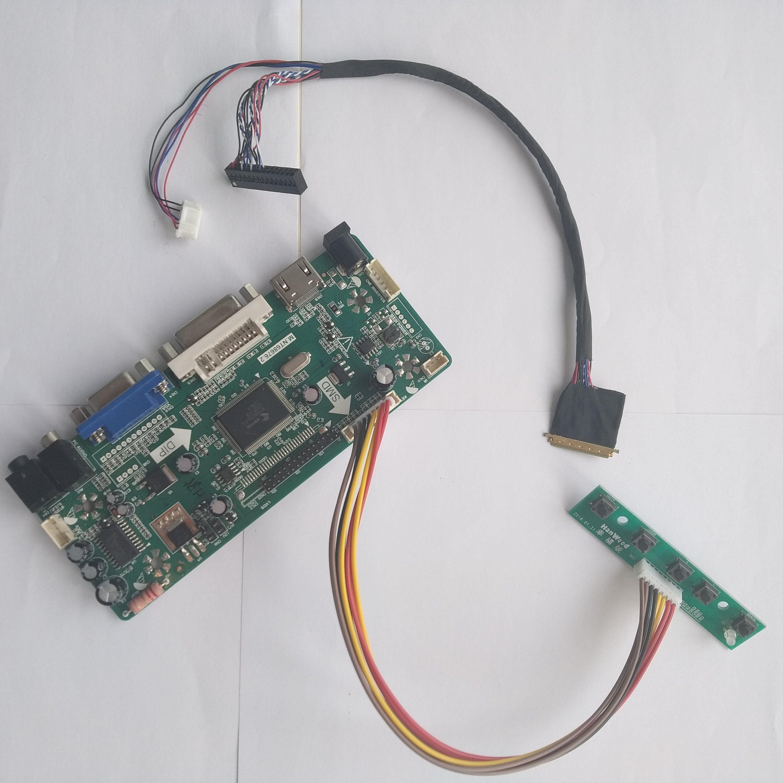 Kit for HSD101PWW1  TV+HDMI+VGA+USB LCD LED screen Controller Driver Board