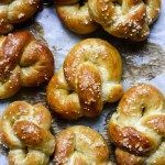 Hot-Buttered Soft Pretzels (Bretzels) #oliebollenrecepten With Oktoberfest celebrations nearly upon us, behold these Alsatian classics: hot buttered soft pretzels! Or, should I say, Bretzels – as that's how you'll find them called in Alsace. These s… #oliebollenrecepten