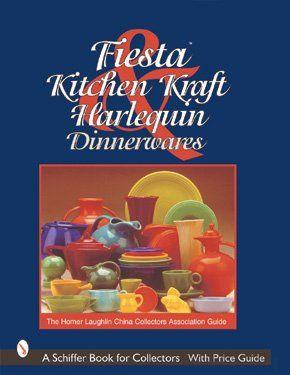 Fiesta, Harlequin, & Kitchen Kraft Dinnerwares: The Homer Laughlin China Collectors Association Guide by Homer Laughlin China Collectors Association http://www.amazon.com/dp/0764311484/ref=cm_sw_r_pi_dp_vMPnub1MS7AZS