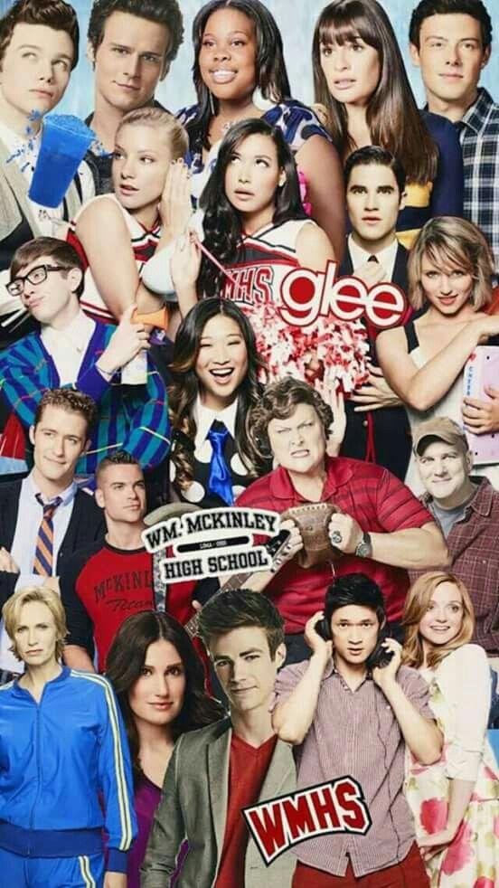 Glee Wallpaper Com Imagens Elenco De Glee Glee Series E Filmes