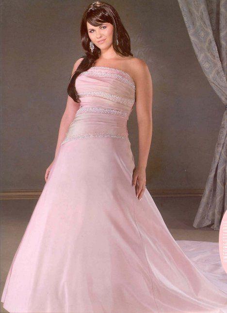 Charming Plus Size Pink Wedding Dresses Nice Ideas