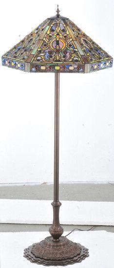 Tiffany Elizabethan Floor Lamp