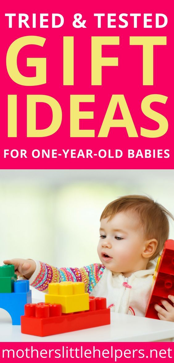 Tried And Tested Gift Ideas For Your One Year Old Baby 2018