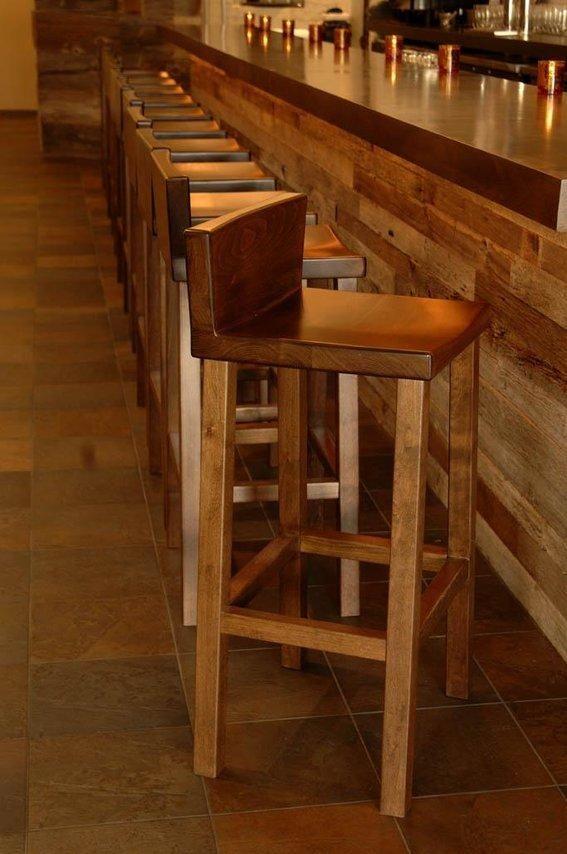 Alder Bar Stool Wooden Bar Stools Wood Bar Stools Bar Chairs Diy