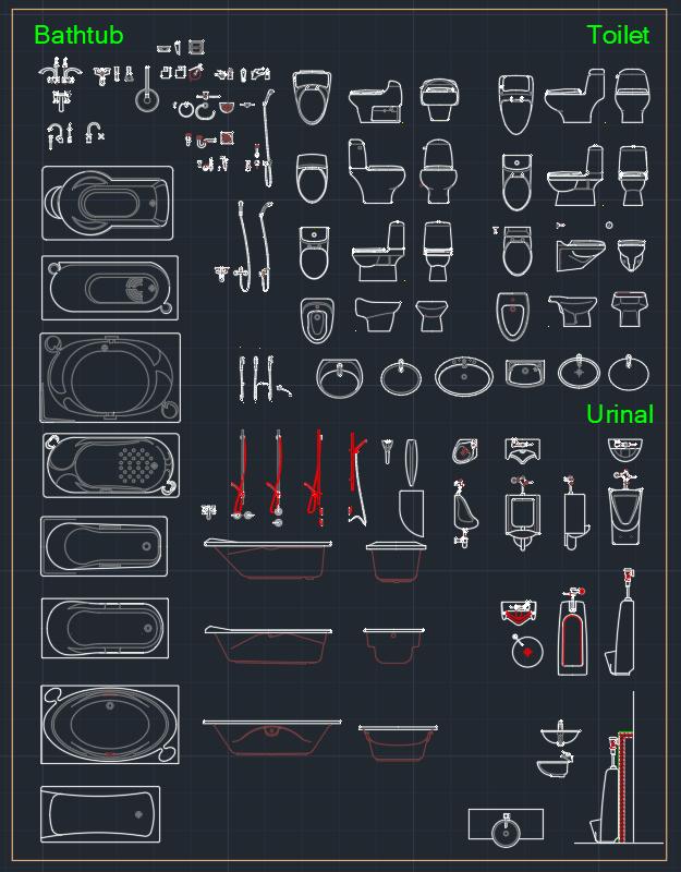 Bathtub And Accessories