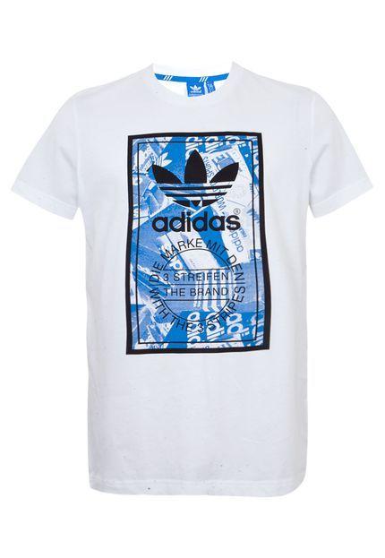 0d4b047f9 Camiseta Adidas Originals Branca - Compre Agora