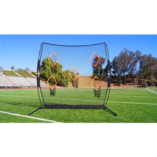 Football Practice Net Bownet Qb5 Passing Training Aid Bow