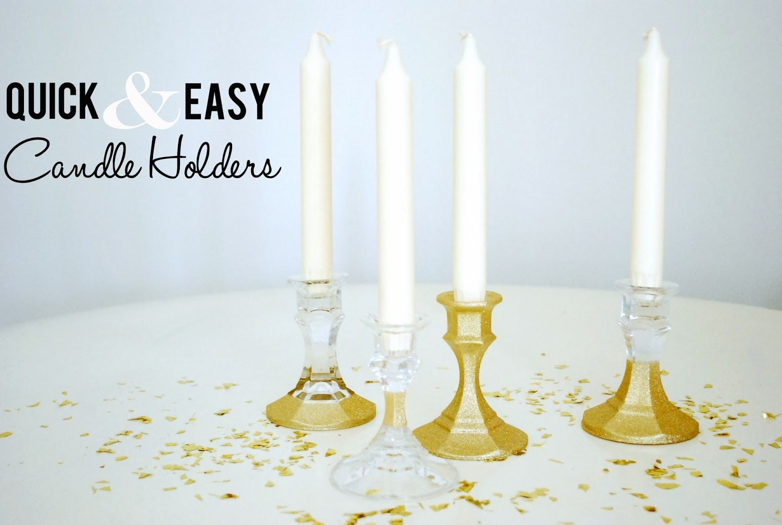 Quick u easy thrift store candle holders via life as a thrifter