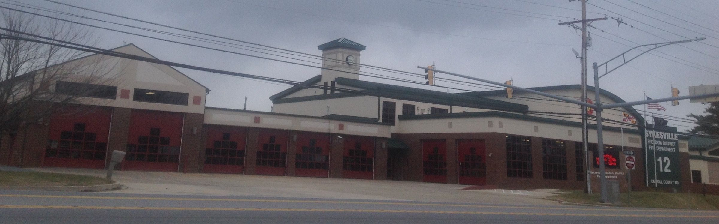 Carroll County Station 12, Engine 123, Engine 124, Truck 12, Squad