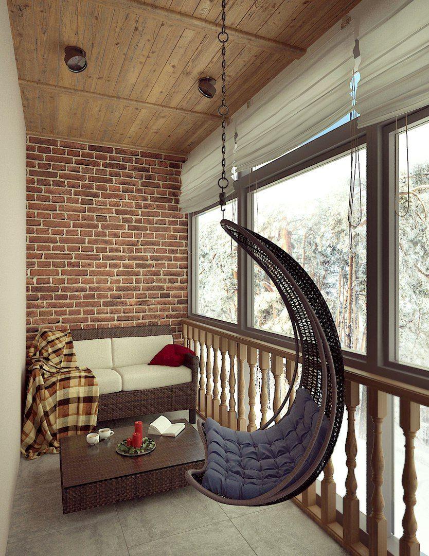 Balkonunuz için kış dekorasyonu