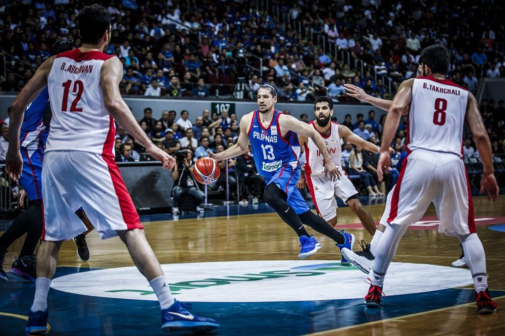 Philippines V Iran Boxscore Fiba Basketball World Cup 2019 Asian Qualifiers 2019 3 December Fi National Basketball League Fiba Basketball Basketball News