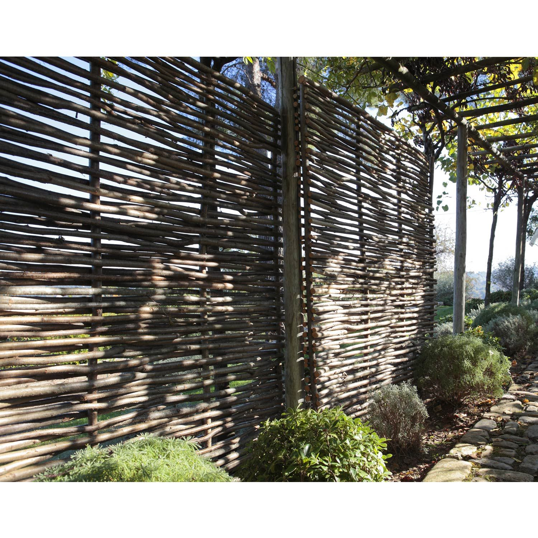 Panneau Bois Ajoure L 150 Cm X H 180 Cm Naturel Jardins Idees