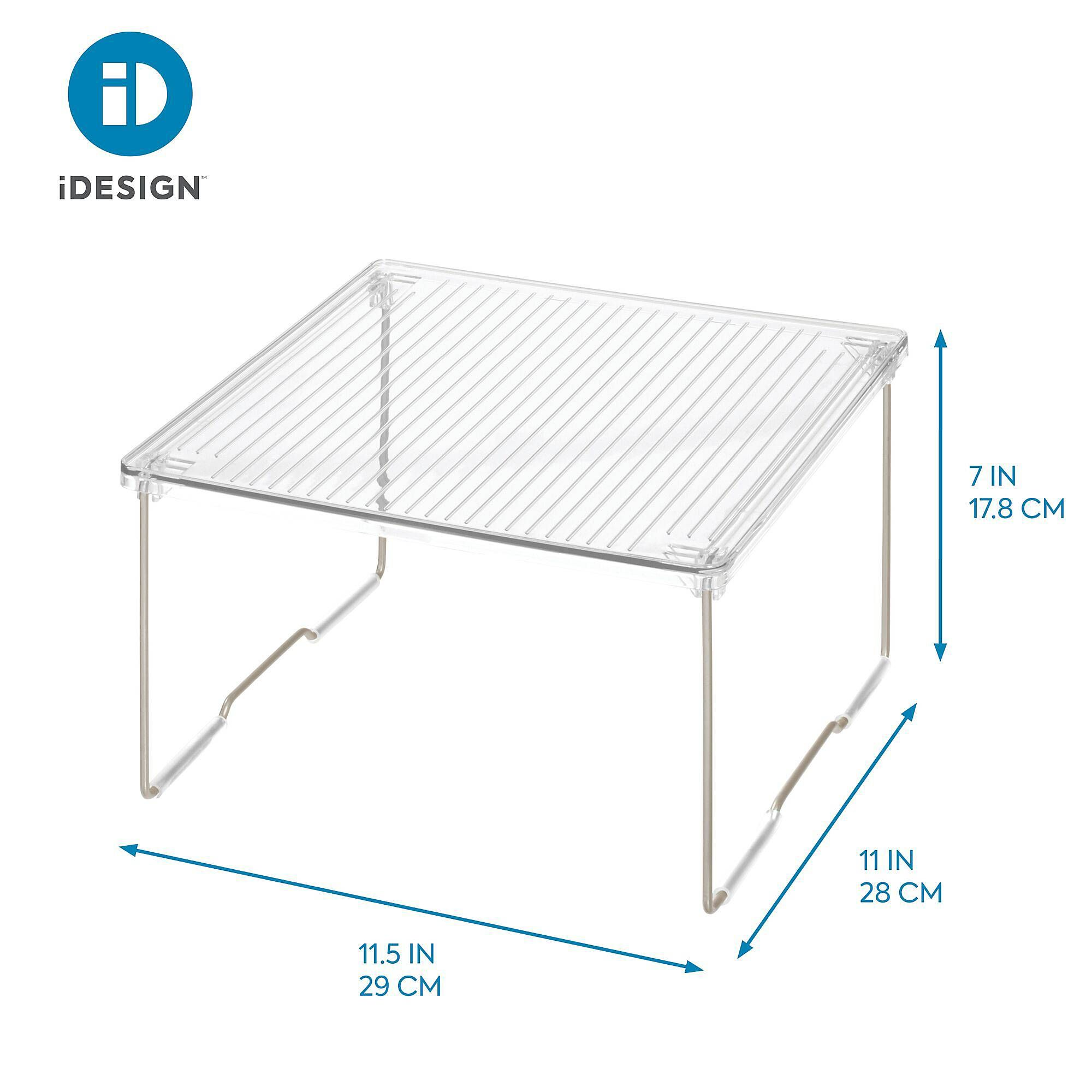 Idesign Small Clear Undersink Shelf Bed Bath Beyond Shelves Storage Cabinets Bed Bath And Beyond