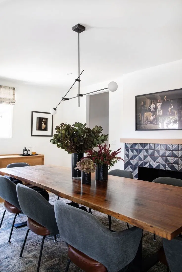 Épinglé par Quinsa Galleries sur Well Design Modern Dining Room ...