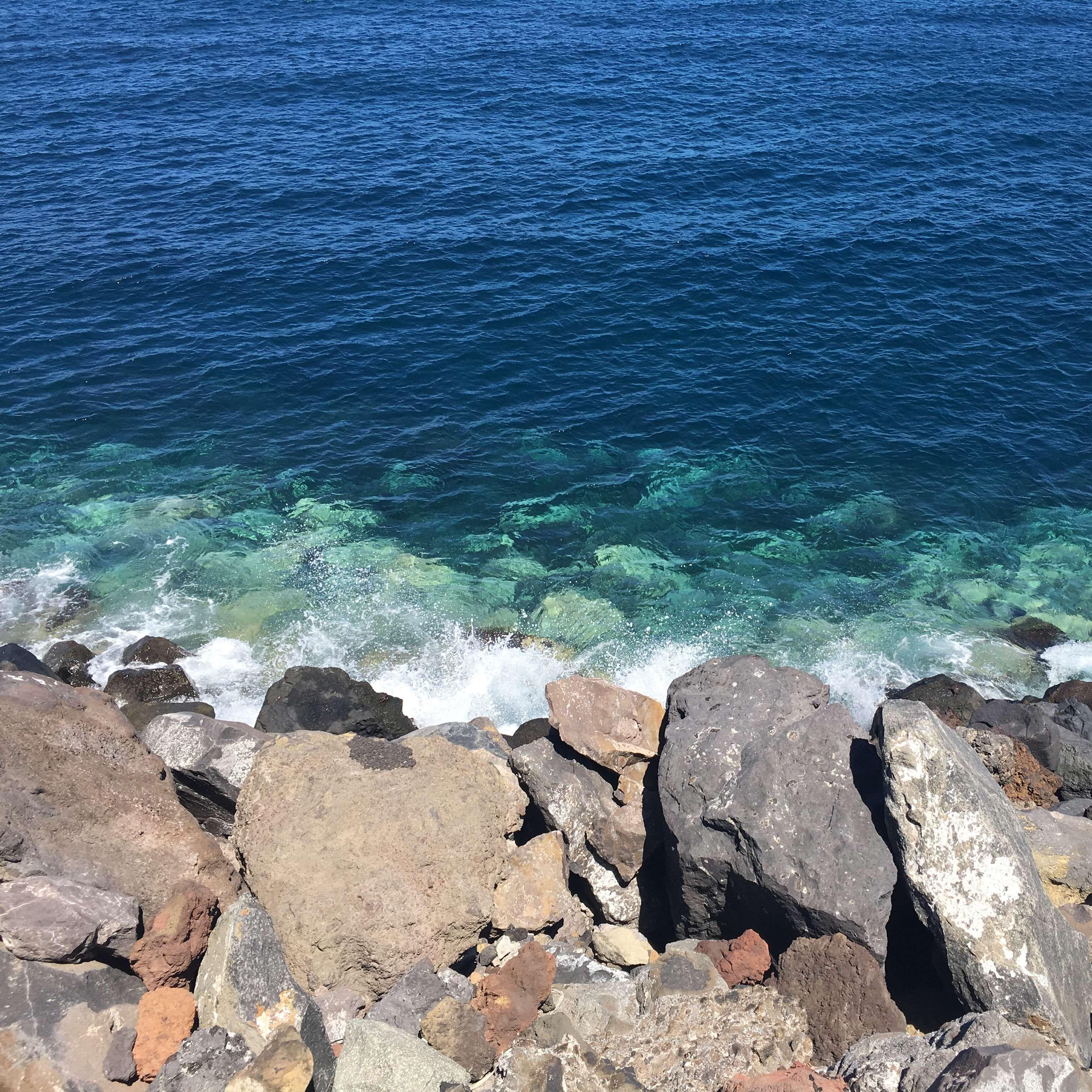 Blue Landscape Ocean Photography Rocks Sea Landscape Ocean Photography Ocean