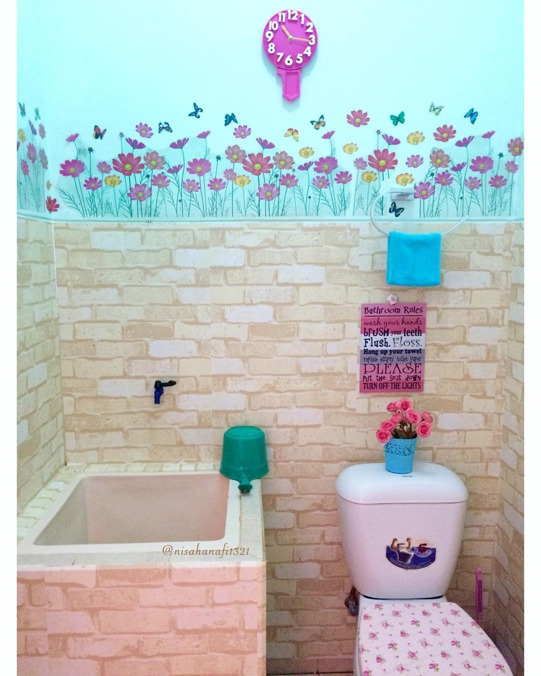 Dekorasi kamar mandi biasa menjadi modern mewah dekorasi for Dekorasi kamar