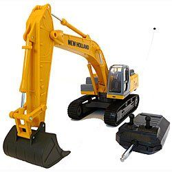 Remote Control New Holland Backhoe E215b Rc Car 1 32 Toy Toy
