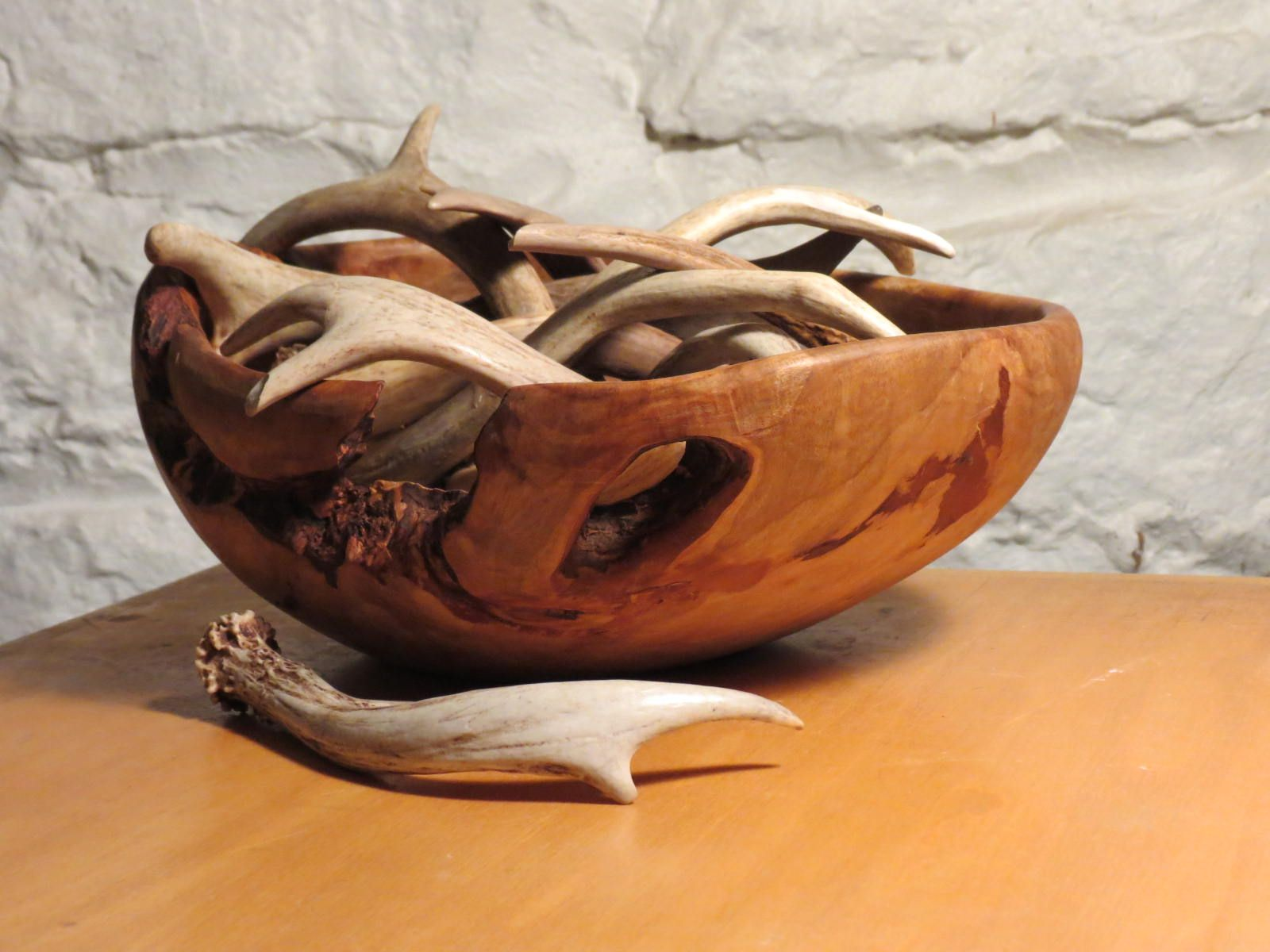 Bowl hand carved from maple burl by m j y tree me
