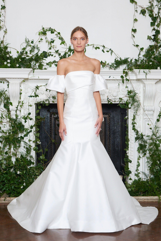 Monique lhuillier bridal fall fashion show monique lhuillier