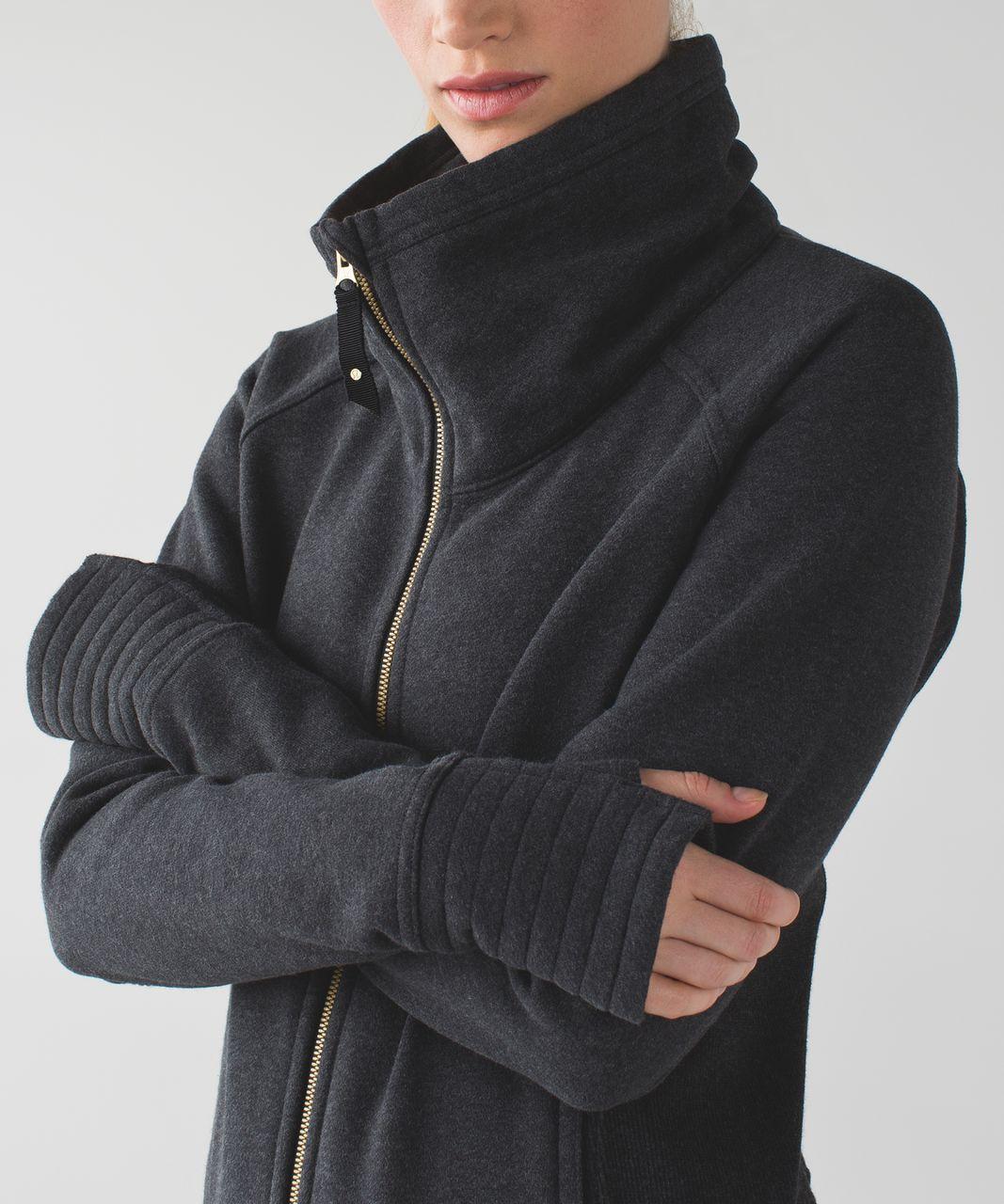 Lululemon Radiant Jacket Heathered Black Lululemon
