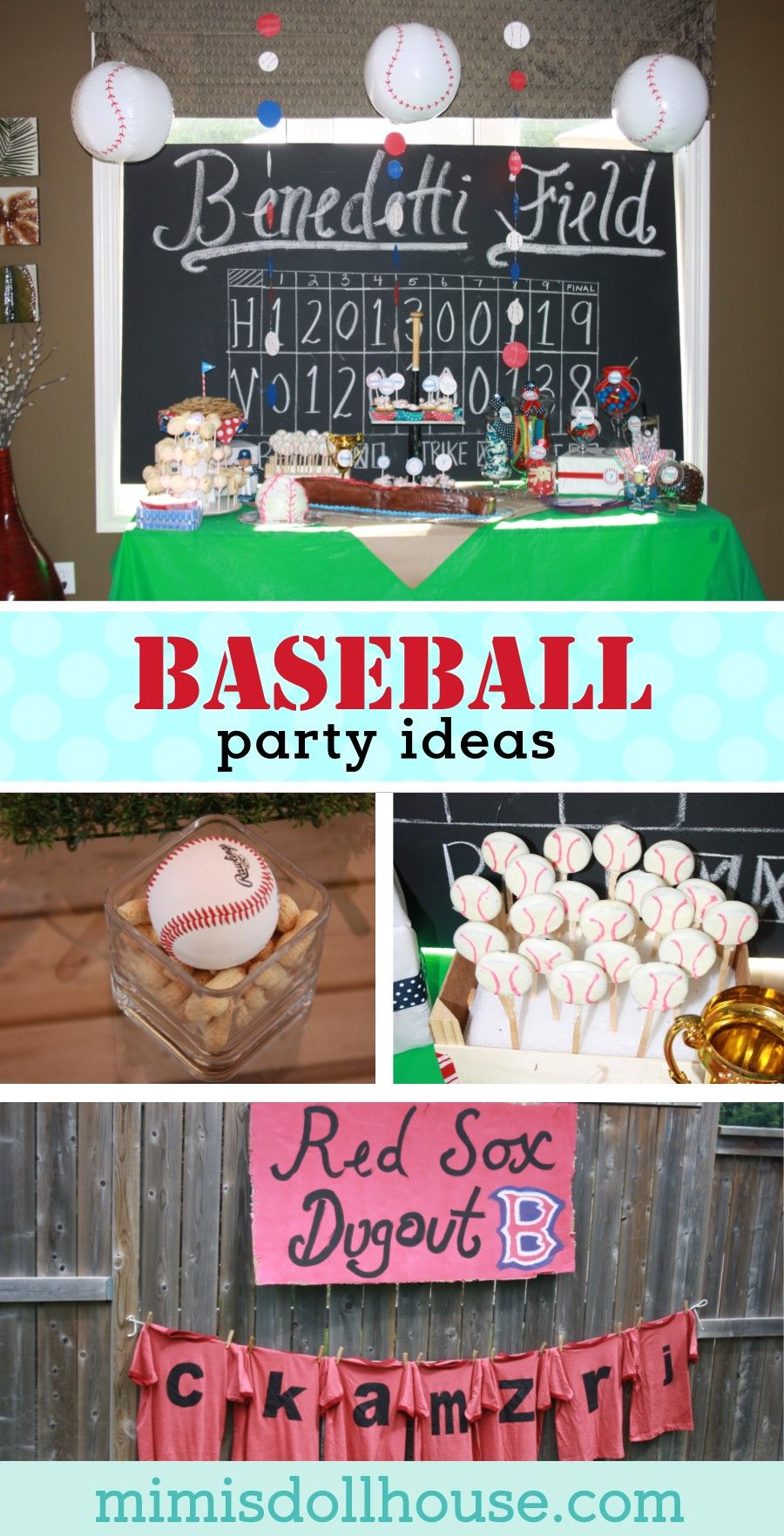 picture How to Throw a Baseball Themed Party