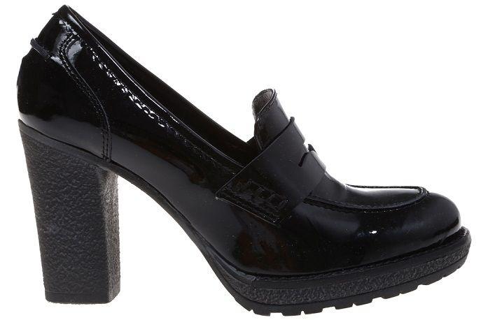 Mocasines Donna Piu tacón charol negro. #donnapiu #mocasines #topshoes https://www.zapatosmayka.es/es/catalogo/senora/don/zapato-moda-cerrado/mocasines/109440155857/donna-piu-9744