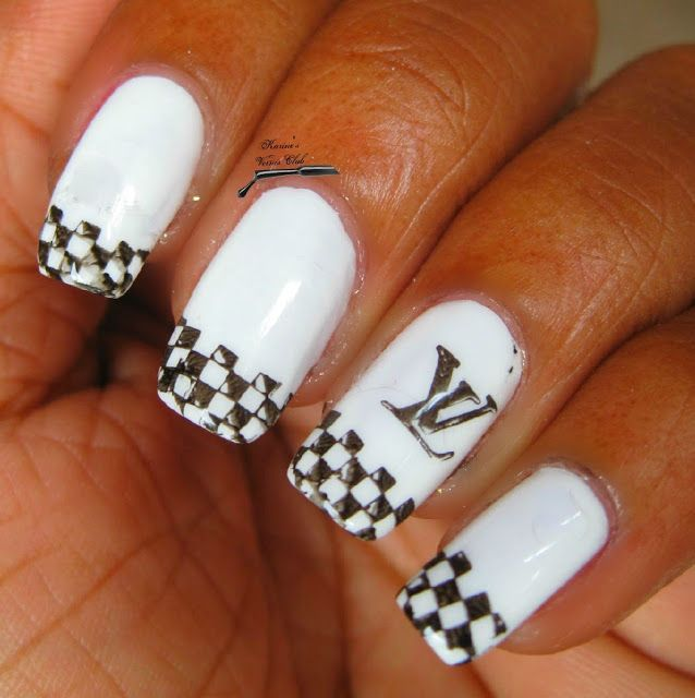 awesome Karine\'s Vernis Club: Louis Vuitton Nail Art | Designer ...