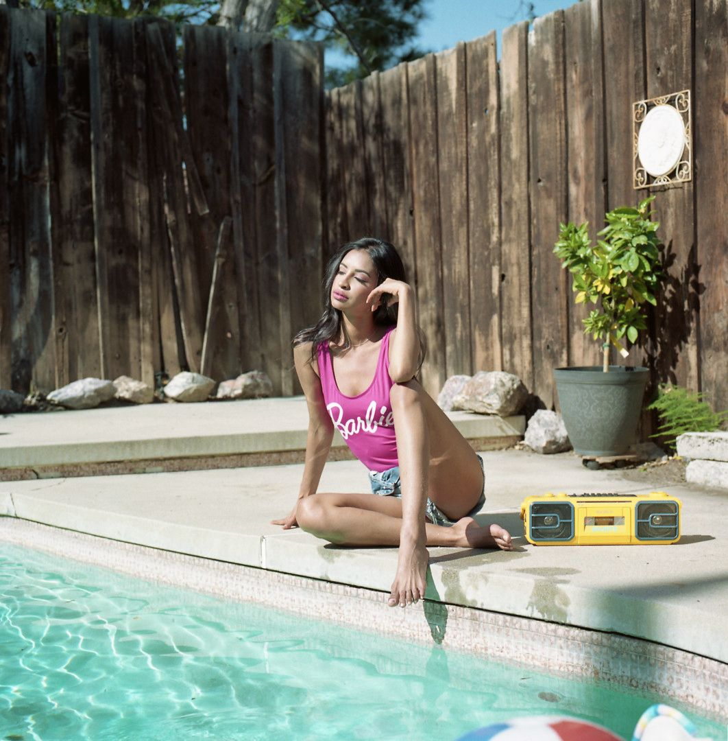 I am still in love with the results from film! Shot on my Hasselblad 500C using Kodak Ektar 100 Film. Model was the amazing @wanessama7 and the MUA: @makeupbyzindy #ksheffieldphotography #hasselbald #hasselblad500c #kodakektar100 #poolparty #lamodels #labeauty #lafashionphotographer #lafashion #southerncaliforniaphotographer #fashionphotography #modelphotography #lamodel