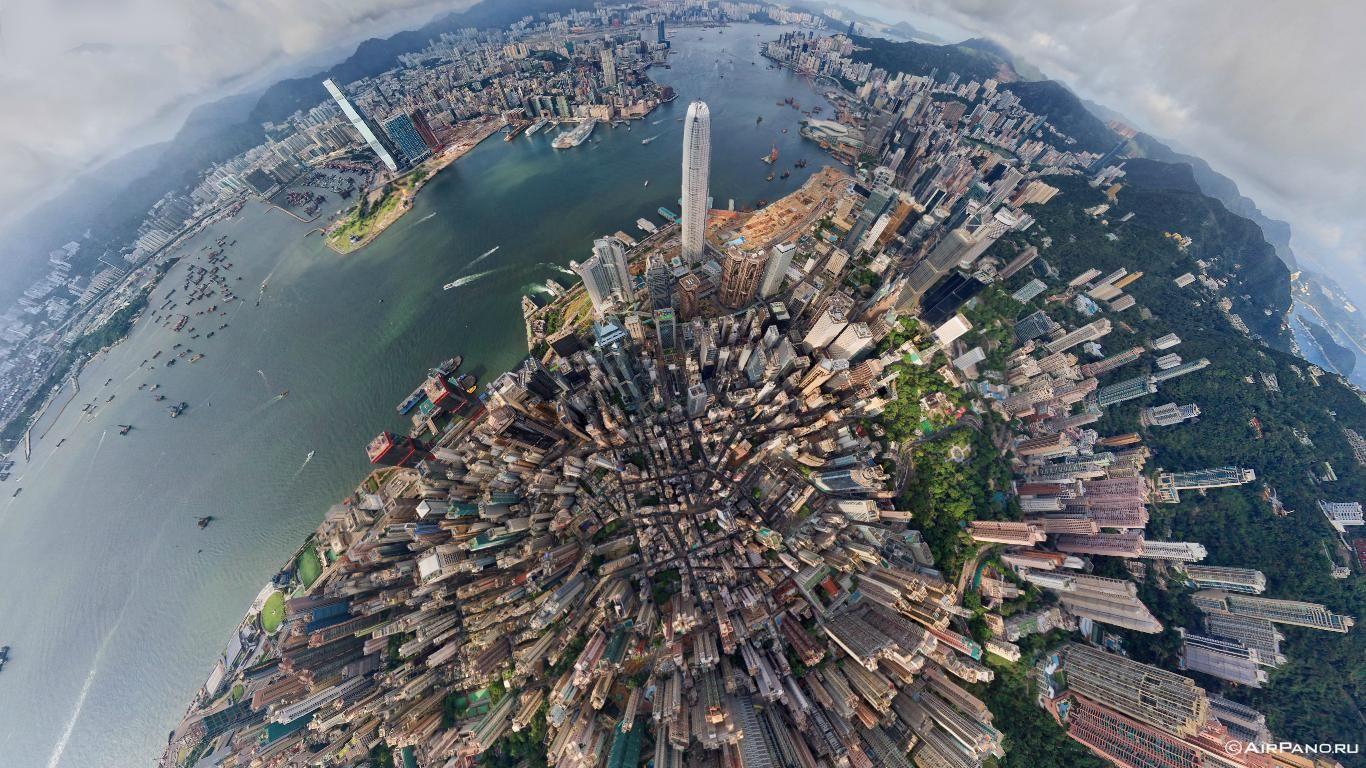 Hong Kong Aerial View Aerial Photography City