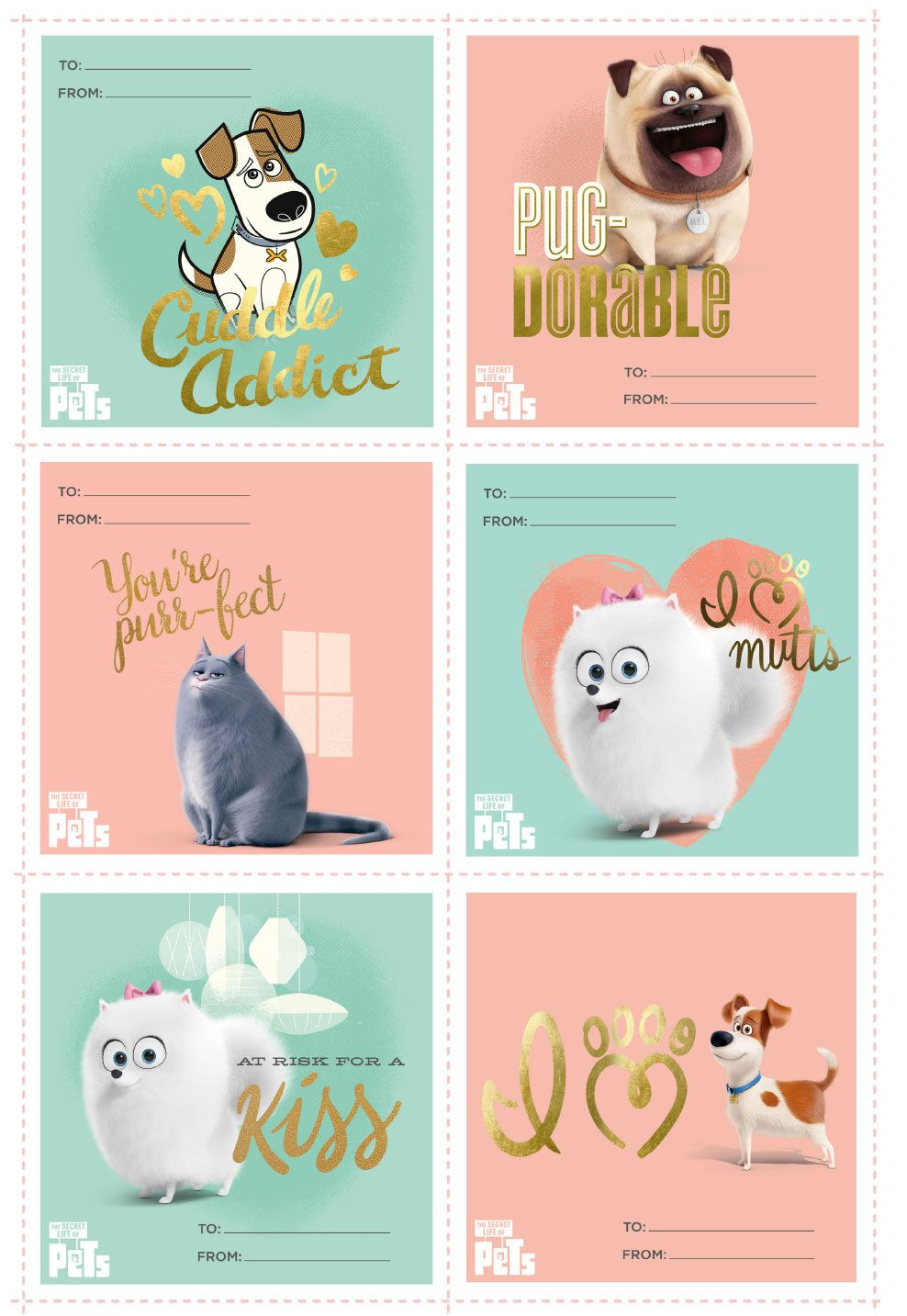 pets valentines day cards la vida secreta de tus etiquetas summit pinterest. Black Bedroom Furniture Sets. Home Design Ideas