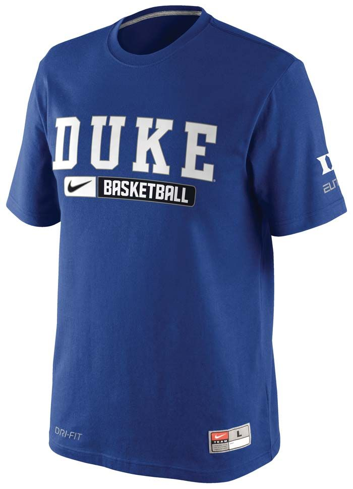 2774e4436a1 Duke University Collection of Gifts - Duke® Team Issued Pratice T-shirt by  Nike®.