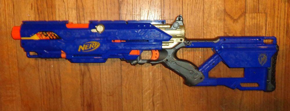 Nerf N-Strike CS-6 Longstrike Sniper Rifle Dart Gun