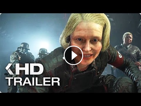 Wolfenstein 2 The New Colossus Trailer German Deutsch 2017