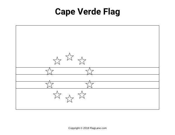 Free Printable Cape Verde Flag Coloring Page Download It At Https Flaglane Com Coloring Page Cape Verdean Flag Coloring Pages Cape Verde Flag Coloring Pages