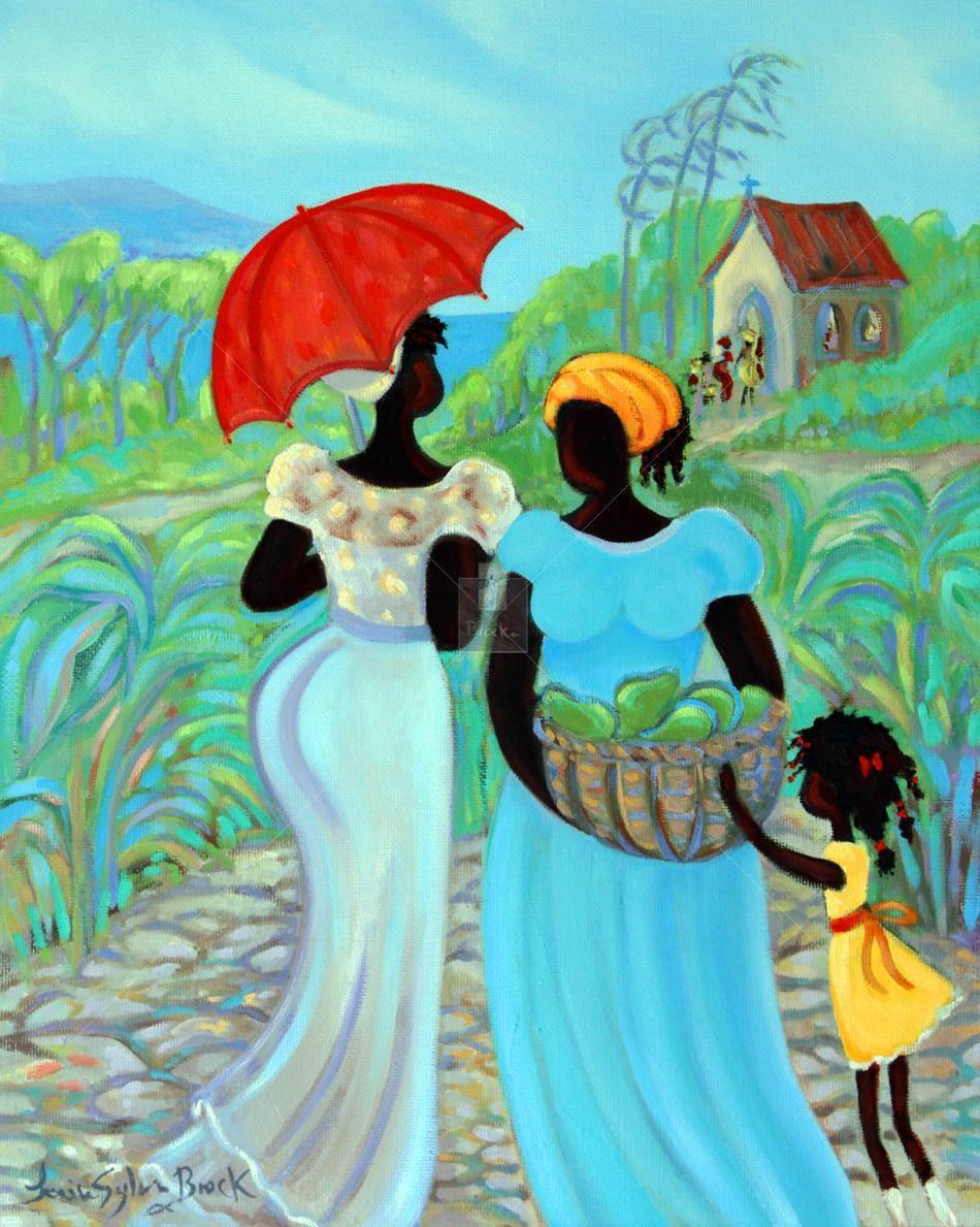 Caribbean Art - Janice Sylvia Brock - Harvest