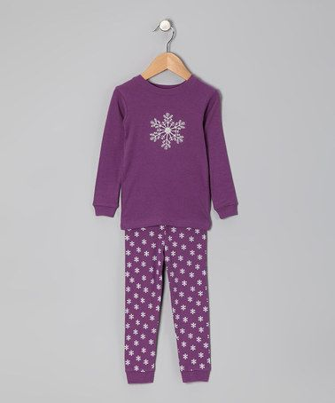 Snowflake Pyjamas - Infant, Toddler & Girl by Leveret on #zulilyUK today!