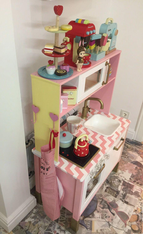 декорирование детской кухни Ikea бледно розовый детская комната