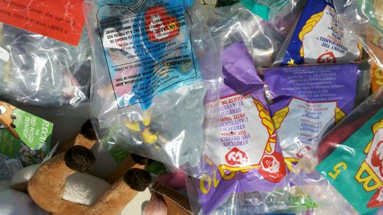 People will buy anything at a yard sale, even Happy Meal toys that you get for free. Here's a handy guide on how to price them at your yard sale.