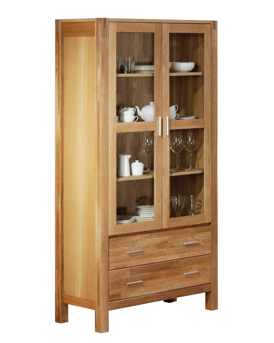 vitrine royal oak 2 t rig royal oak serien. Black Bedroom Furniture Sets. Home Design Ideas