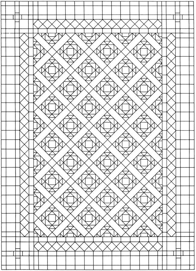 dover sampler creative haven mosaic tile designs coloring book - Mosaic Coloring Book
