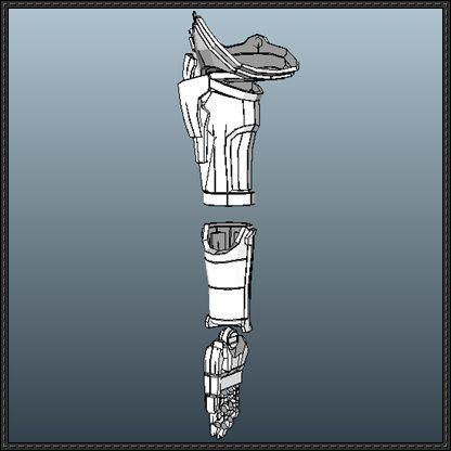 Fullmetal Alchemist - Edward Elric's Automail Free ...