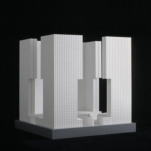 Castrum Neuss 1990 Architekt O M Ungers P3 Hochhaus