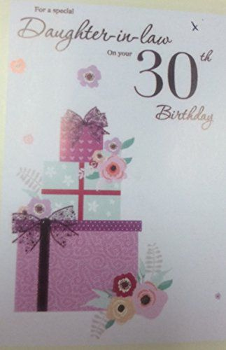 For A Special Daughter In Law On Your 30th Birthday Card ICG