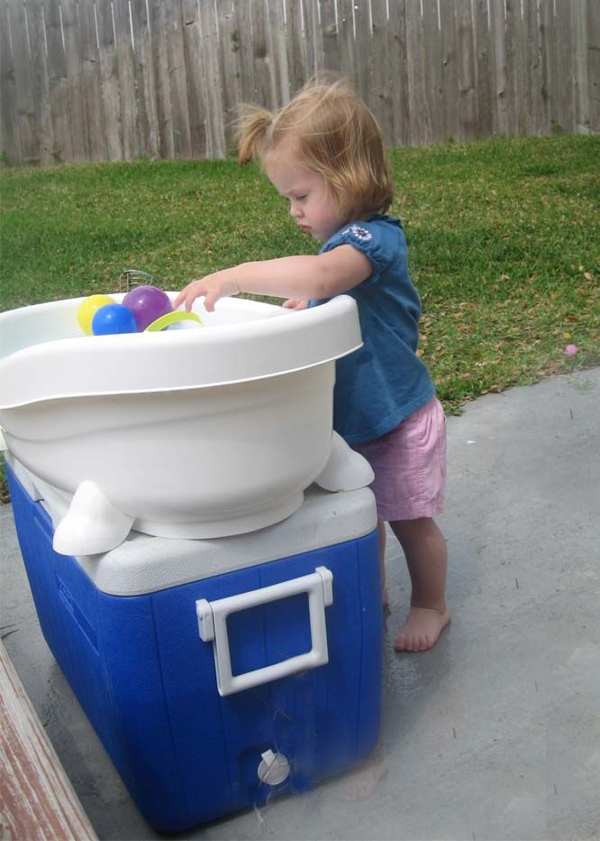Use The Old Baby Bath Tub As A Water Table Diy Outdoor